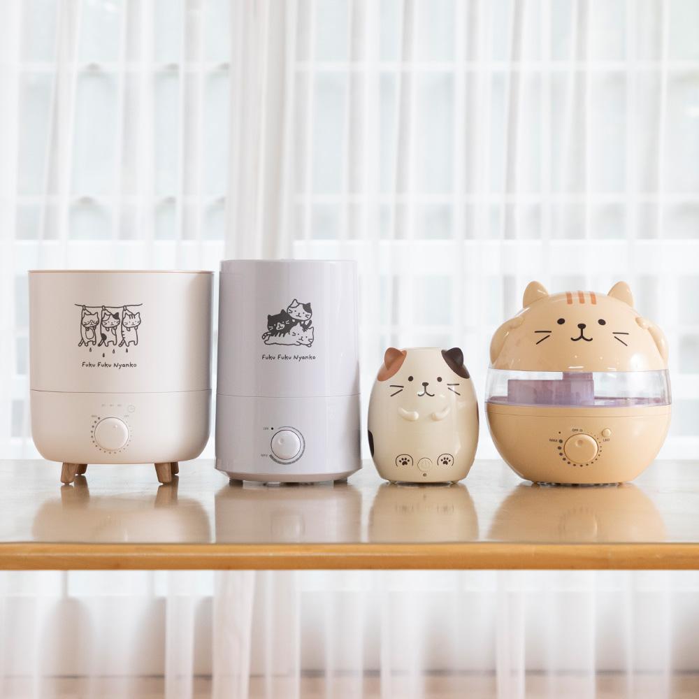 FukuFukuNyanko フロート加湿器(2.3L)