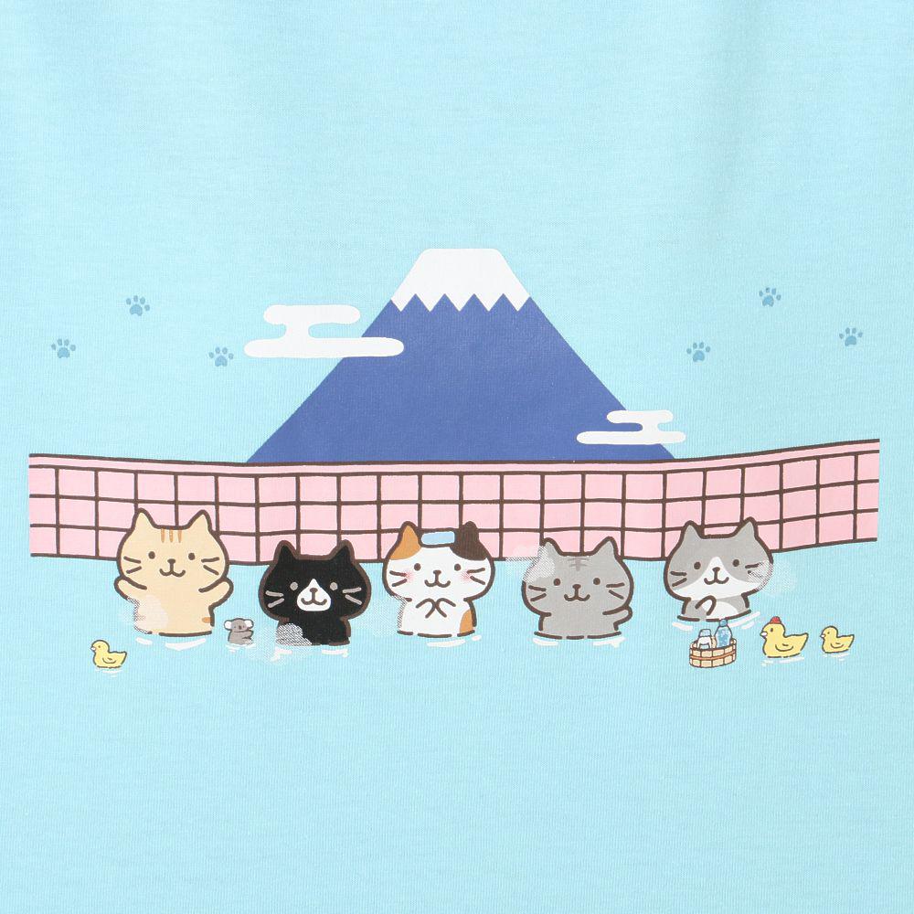 FukuFukuNyanko イラストボックスTシャツ