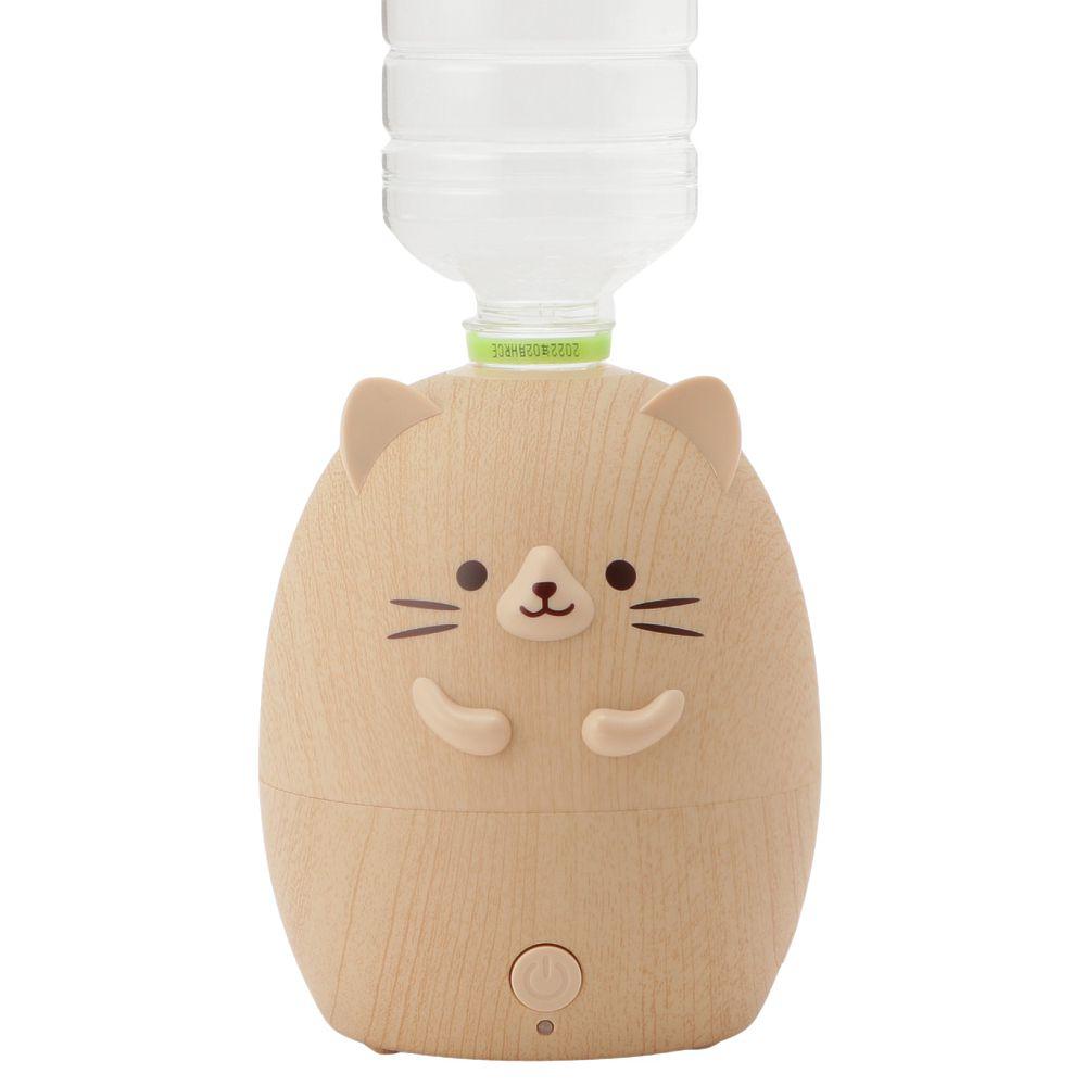 ネコペットボトル加湿器