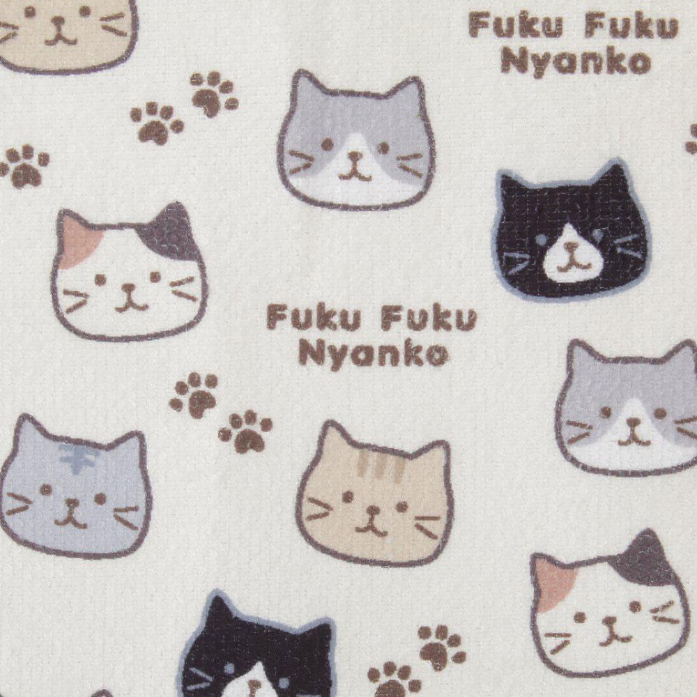 FukuFukuNyanko ダイカット水切りマット+マイクロふきんセット