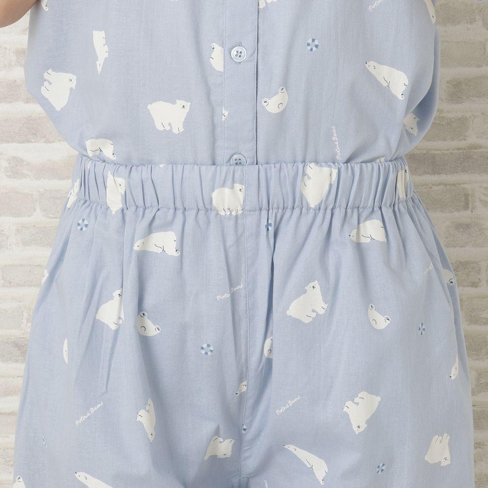 サマーアニマル プリント半袖パジャマ