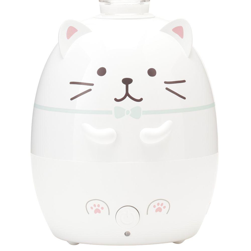 FukuFukuNyanko ペットボトル加湿器(しろたま)