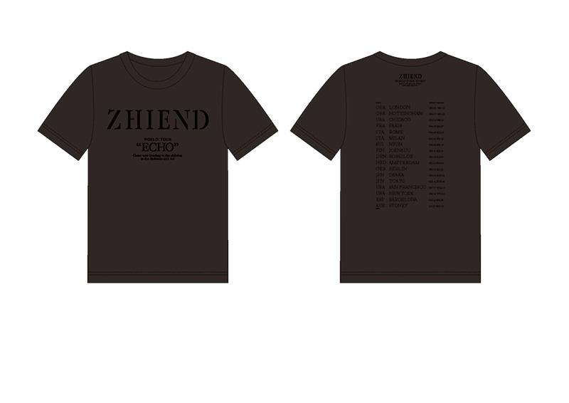 Charlotte ZHIENDTシャツ黒