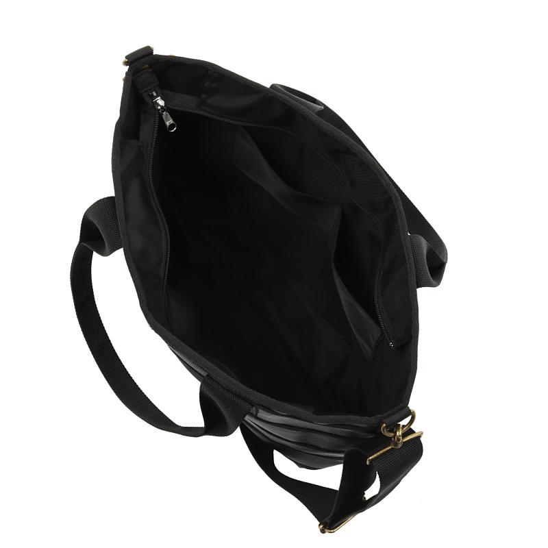 スパイラルトートバッグ(ブラック)