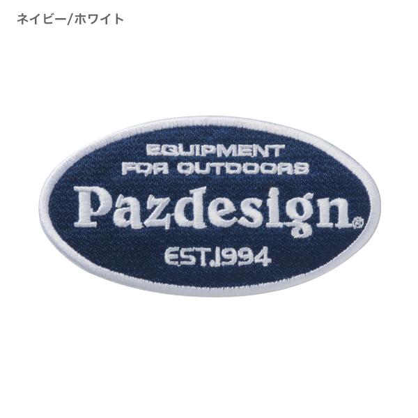 Pazdesign PATCH OVAL(Pazdesign ワッペン オーバル)