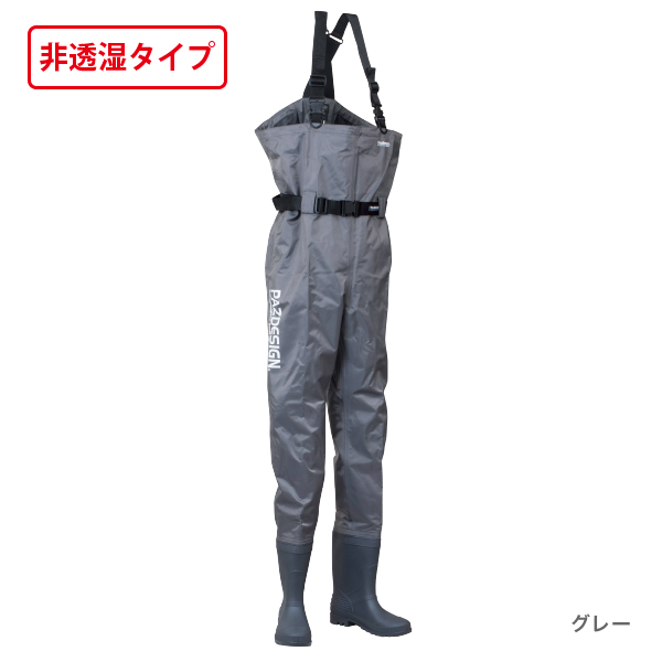 PVC BOOTS CHEST HIGHT WADER RD(PVCブーツチェストハイウェーダー ラジアル底)