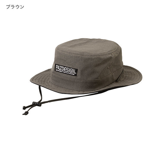 PAZDESIGN WATER REPELLENT HAT �(PAZDESIGN 撥水ハット �)