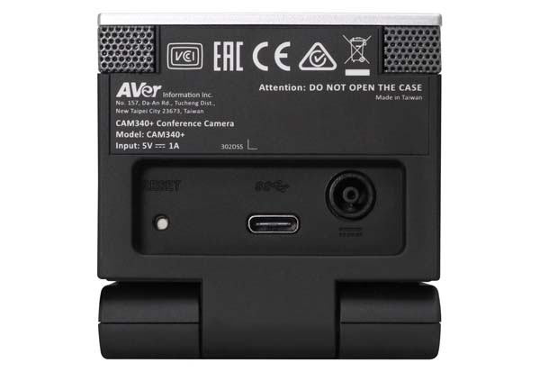 AVer Information ハドルルーム用プレミアム Web カメラ (CAM340-+)|CAM340-+