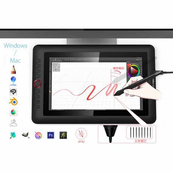 XP-PEN Artist 13.3 Pro 超コンパクトな液晶ペンタブレット ARTIST13.3PRO