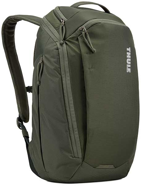 Thule EnRoute Backpack 23リットル バックパック/リュックサック Dark Forest/グリーン|3203598
