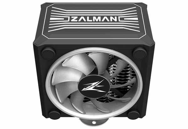 ZALMAN CNPS16X BLACK サイドフロー型CPUクーラー CNPS16X BLACK
