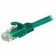 StarTech カテゴリ6 LANケーブル 0.5m グリーン ツメ折れ防止RJ45コネクタ Cat6 UTPギガビットイーサネットケーブル|N6PATC50CMGN