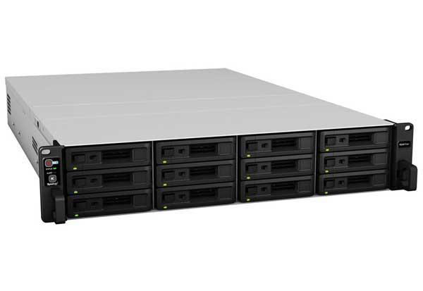 Synology RackStation RS3617xs+ 6コアXEON D-1531搭載ハイエンド12ベイラックマウントNAS|RS3617xs+