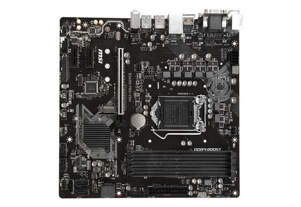 MSI B360M PRO-VDH ビジネス向けに最適なmicroATXマザーボード