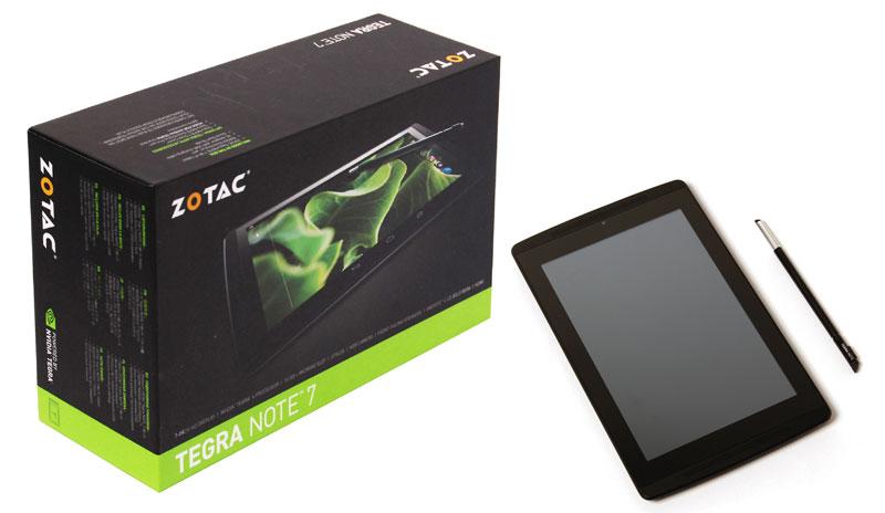 ZOTAC ZT-TN701-10J TEGRA NOTE 7 Android 4.2搭載  7インチアンドロイド タブレット (ZT-TN701-10J)