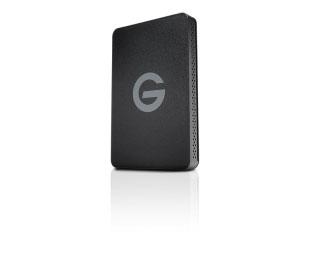 G-Technology 耐衝撃・防塵・防水対応 G-DRIVE ev ATC with Thunderbolt 1TB (0G03589)
