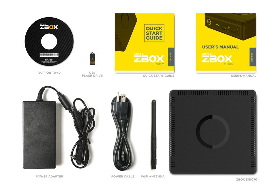 ZOTAC ZBOX MAGNUS EN1070 Win10 Home NVIDIA GeForce GTX 1070搭載コンパクトパソコン ZBOX-EN1070-J-W2B
