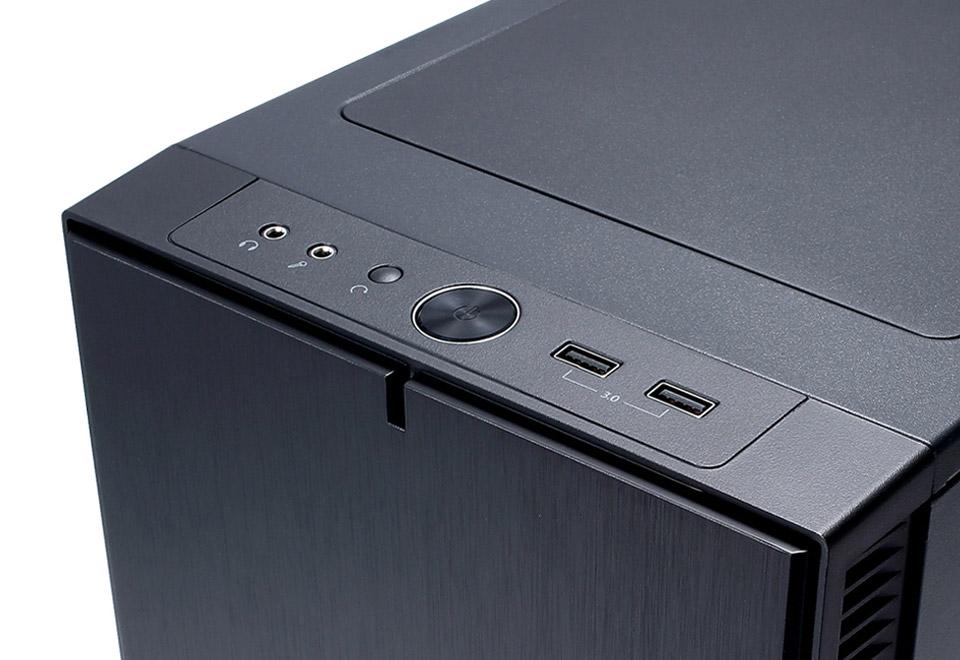 Fractal Design Define Mini C Black Window microATX対応ミニタワー型PCケース FD-CA-DEF-MINI-C-BK-W