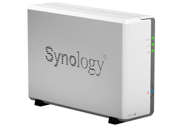 Synology DiskStation DS119j 多機能1ベイNAS 初心者にも最適な省スペースNASキット DS119j