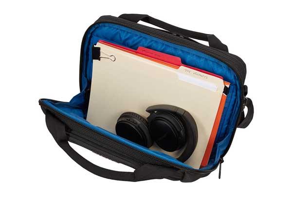 """Thule Crossover 2 Laptop Bag 13.3"""" Black 手持ちとショルダーの2way ノートパソコンとタブレット同時収納対応ノートパソコン用バッグ ブラック C2LB-113 BLK"""