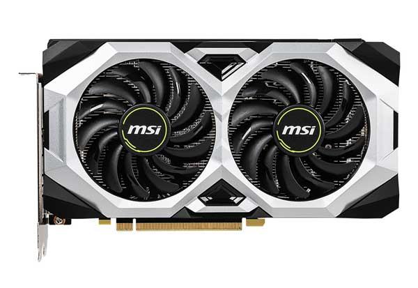 MSI GeForce RTX 2060 VENTUS 6G OC トルクスファン 2.0採用 オーバークロック仕様グラフィックボード