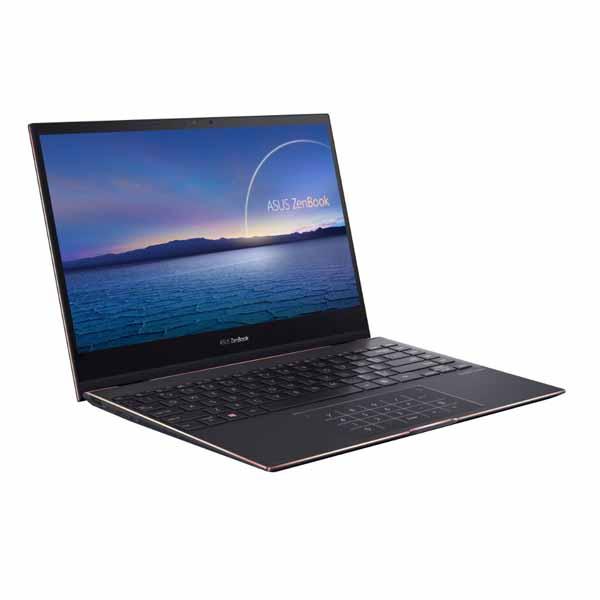ASUS (ZenBook Flip S)ノートPC(i7-1165G7/16GB/SSD 512GB(PCIe3.0x2)/13.3型ワイドタッチ(FHD)|UX371EA-HR015TS