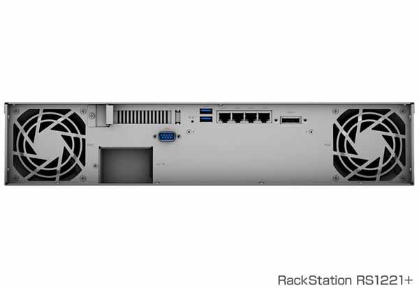 Synology RackStation RS1221+ 高性能2U8ベイNASサーバー