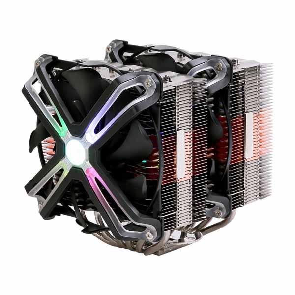 【アウトレット特価・新品】ZALMAN デュアルヒートシンクとデュアルファン構造 サイドフロー型CPUクーラー|CNPS20X