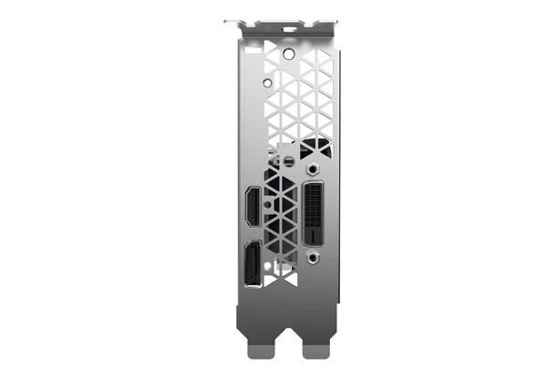 ZOTAC GAMING GeForce GTX 1650 LP グラフィックボード|ZTGTX1650-4GBLP/ZT-T16500H-10L