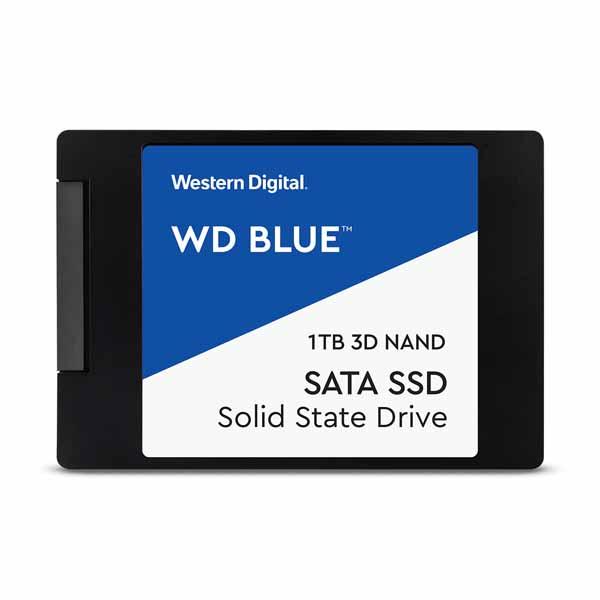 Western Digital WD Blue SATA SSD 容量1TB 2.5インチ +外付アルミニウム製ケース WDS100T2B0A+EXT