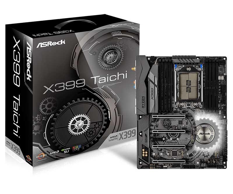 ASRock X399 Taichi ATXマザーボード