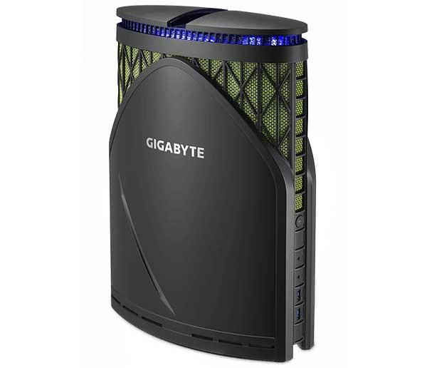 GIGABYTE GeForce GTX1070搭載 小型ゲーミングデスクトップパソコン|GB-GZ1DTi7K-1070-NK WIFI