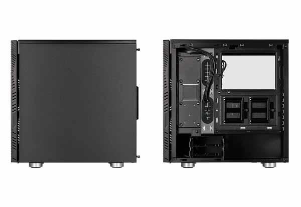 【アウトレット特価・新品】Corsair 275R Airflow Tempered Glass ブラック ATX ミドルタワー型PCケース|CC-9011181-WW