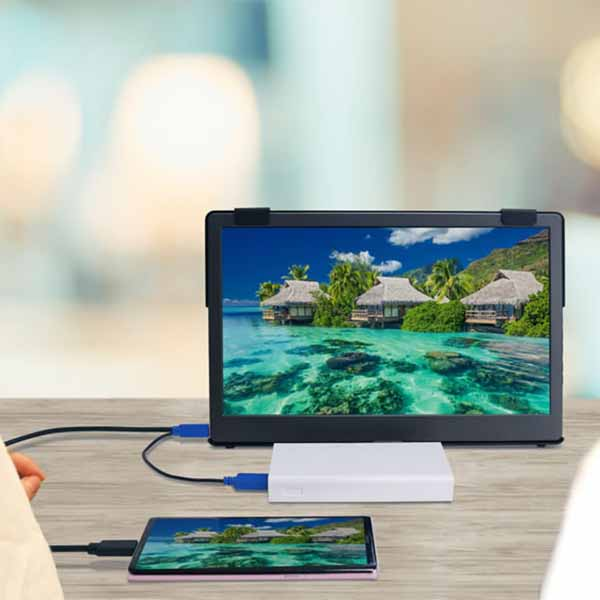 Gechic ON-LAP/1306H-R2 13.3インチ USB Type-C/HDMI ハイブリッド映像入力 IPS液晶 ブルーライト軽減