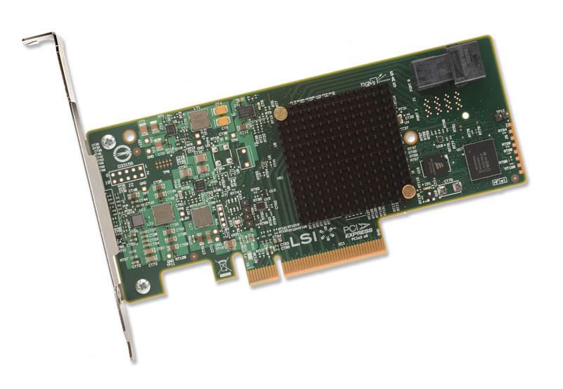 LSILogic MegaRAID SAS 9341-4i (KIT) LSI最新のROCコントローラを搭載するロープロファイル仕様のRAIDカード (LSI00406)