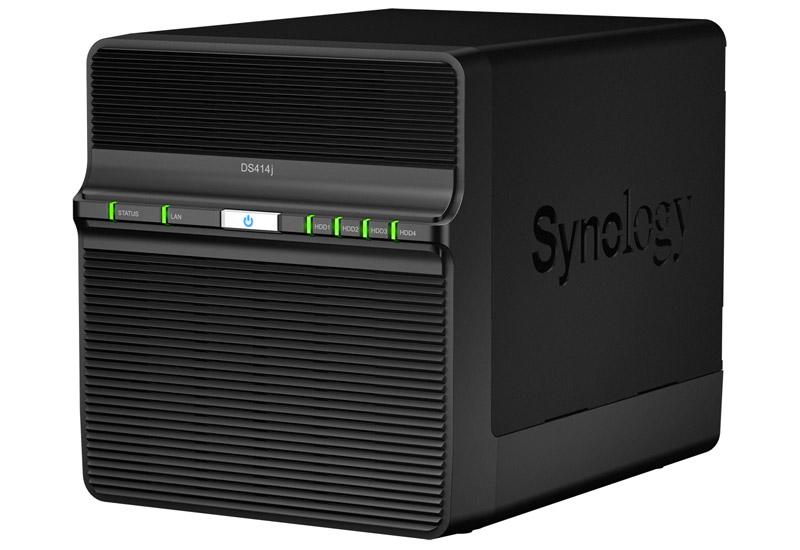 Synology DiskStation DS414j 最大4台搭載可能なNASサーバー