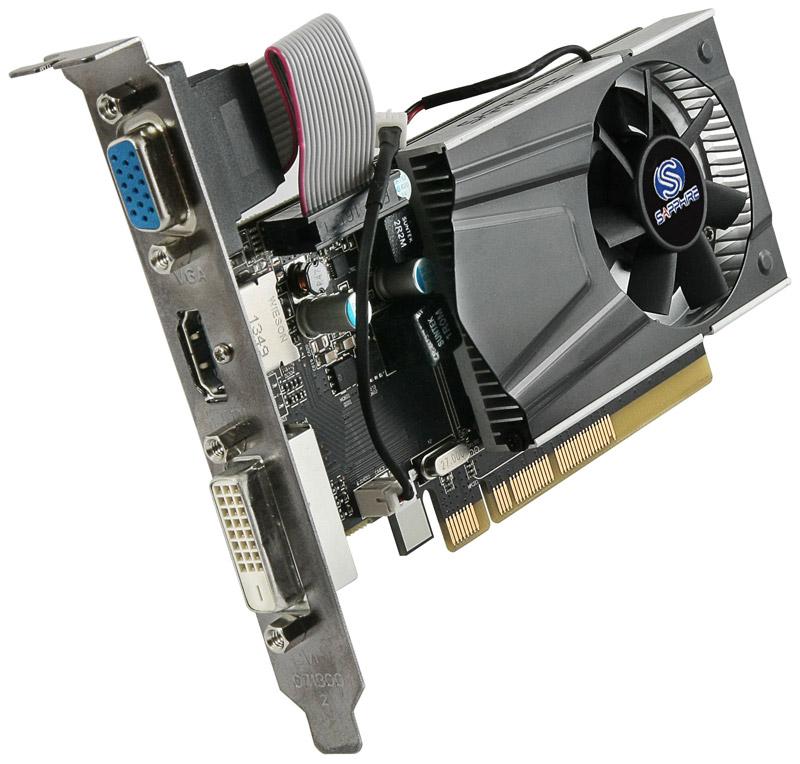 Sapphire R7 240 1G DDR3 PCI-E HDMI / DVI-D / VGA LP WITH BOOST (SA-R7240-1GD364BRLP04/11216-13-20G)