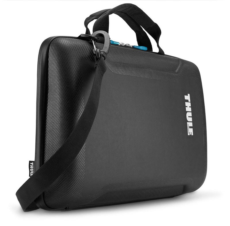 Thule Gauntlet MacBook Pro15インチとiPadが収納可能な高い耐衝撃性を誇るアタッシュケース  (TGPA-215BLK)