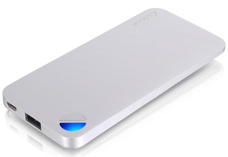 Thermaltake 大容量5000mAhアルミニウム素材で159gと軽量なモバイルバッテリー LUXA2 P2 5000 mAh Aluminium Portable Battery モバイルバッテリー (PO-UNP-ALP2SI-00)