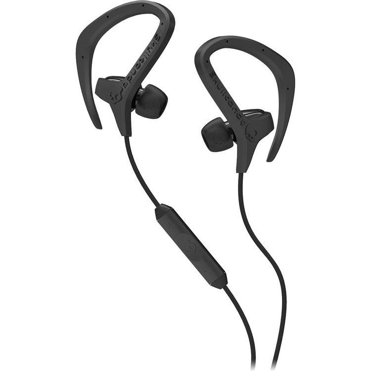 Skullcandy Chops In-Ear w/Mic3 - Black 耳フックタイプのインイヤー式ヘッドフォン ブラック (S4CHFY-033)