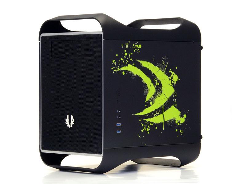 BitFenix Prodigy M (mATX) Black NVIDIA Edition (BFC-PRM-300-KKXSK-NV)