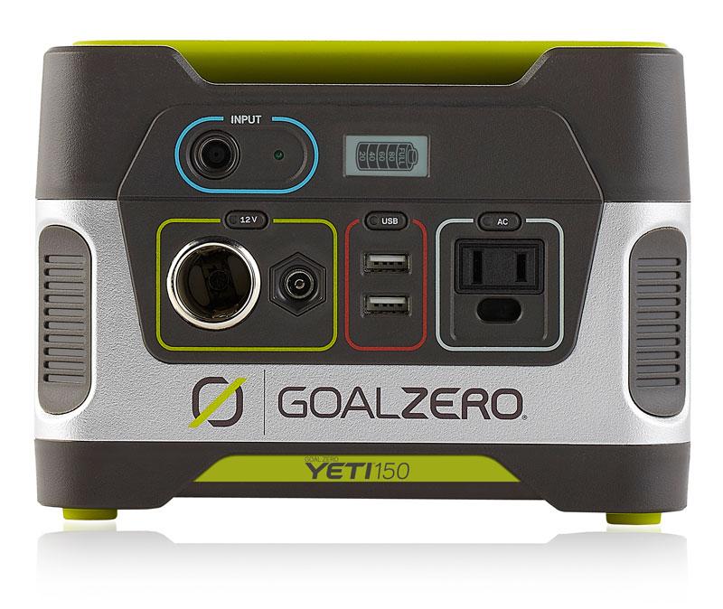 Goal Zero Yeti 150 Solar Generator 150Wh バッテリー (100V 日本仕様 R2)|63211/63207