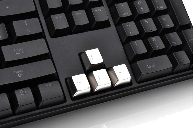 Thermaltake Tt eSPORTS METALCAPS 5 keys Arrow+ESC メタルキーキャップ (EA-MTC-AKCSIL-AR)
