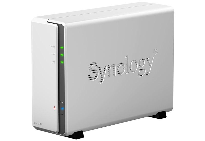 Synology DiskStation 家庭用のマルチメディア用途に最適な1ベイ NASサーバー (DS115j)