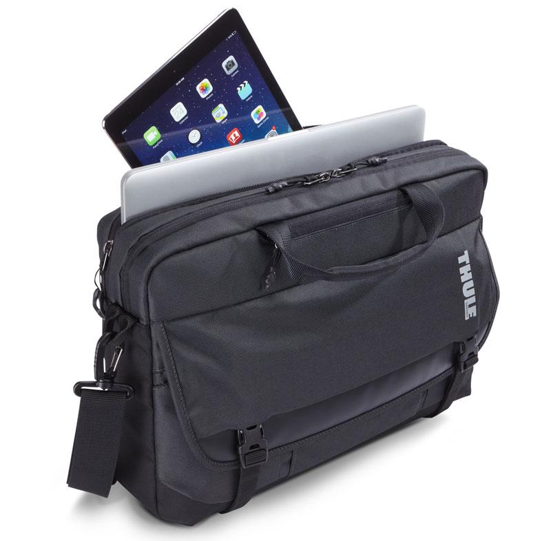 Thule Subterra 15インチノートパソコン、タブレットを収納できるバッグ (TSBE-2115 GRAY)