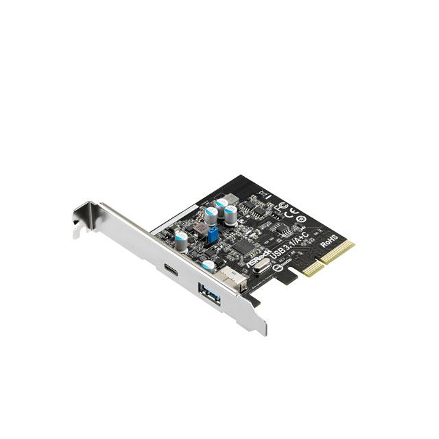 ASRock USB 3.1/A+C カード (USB 3.1/A+C card)