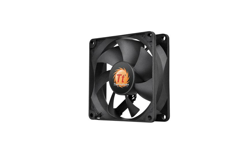 Thermaltake 低ノイズ、長寿命設計の冷却ファン 8cm Pure 8 (CL-F010-PL08BL-A)