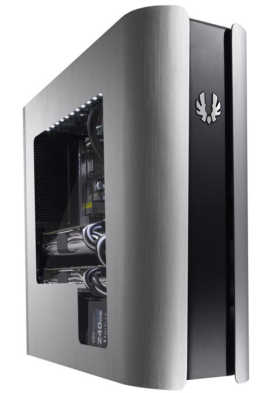 BitFenix Pandora Core Window Silver microATX対応のスリム型PCケース (BFC-PAN-300-KSWN1-RP)