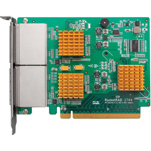 HighPoint RAIDカード RocketRAID 2744 (RR2744)