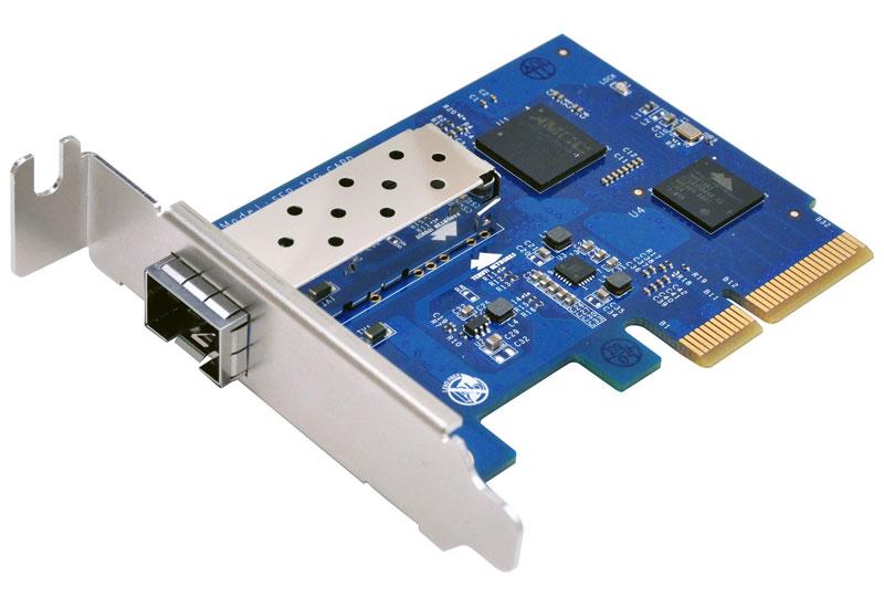 Synology 10Gigabit Single SFP+ Port PCIe x4 Ethernet Adapter (E10G15-F1)